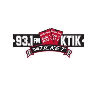 "93.1 FM KTIK ""The Ticket"