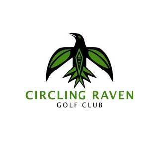 Circling Raven